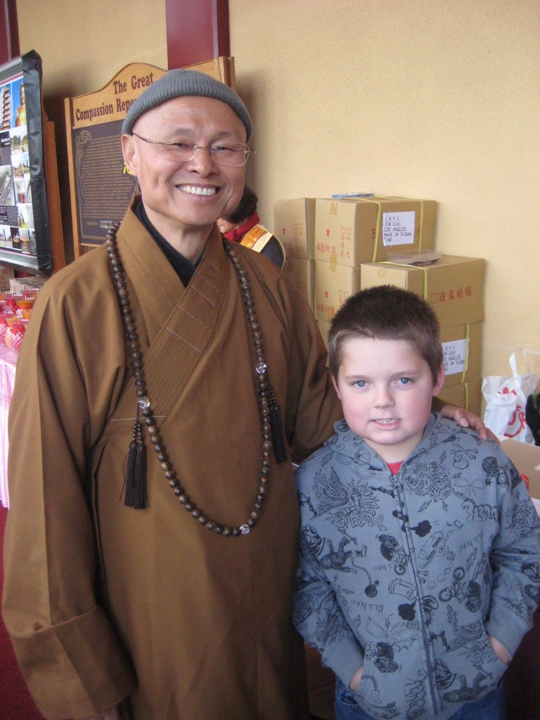 Venerable Hsin Ting and Ian